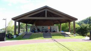 竜北公園:野外ステージ