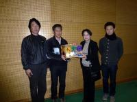 熊本保健科学大学にて寄付